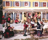 Byers Choice Holiday Display