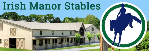 We offer full-care boarding and horseback riding lessons in a warm, inviting atmosphere. Our facility includes a 15-stall barn with a fly spray system and security system; every stall has a Dutch door, stall light, and a hay drop. We also have an indoor lounge and full bath for the comfort of clients. Our arenas include a 70 ft x 140 ft mirrored indoor arena with sand and GGT footing, and 80 ft x 200 ft outdoor arena with sand footing. We have trails on the property with direct access to the CBTA trail system.