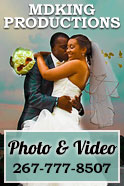 MDKing Productions is a photography and videography company who captures the moments and brings stories to life through film. We do weddings, corporate videos, small business events, and a host of other occasions.