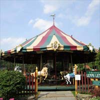 Carousel Village is a great little treasure for the wee ones in your life. They have a beautiful carousel and a really cool steam train ride through their 45 acre property. You'll have a friendly conductor who will introduce you to resident animals, including miniature goats, emus, elpacas, llamas, pheasants, and turkeys! After your train ride, you can enjoy some yummy, locally sourced ice cream and the adults will enjoy a little shopping in the gift boutique. The carousel and train rides are weekends from 11-5 (weather permitting).
