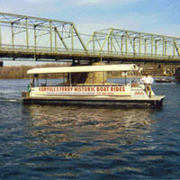 Boat Rides. Gen. George Washington advised: Be sure to take the ferry by Coryell's as it is the swiftest, surest route.
