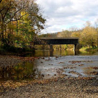 Tyler State Park consists of 1,711 acres in Bucks County. Park roads, trails, and facilities are carefully nestled within the original farm and woodland setting. Neshaminy Creek meanders through the park, dividing the land into several interesting sections.