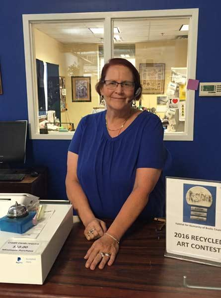 Warrington resident,Patty Saylor, aged 60, was hired as a full-time truck scheduler for Habitat for Humanity of Bucks County ReStores through the Goodwill Senior Community Service Employment Program.