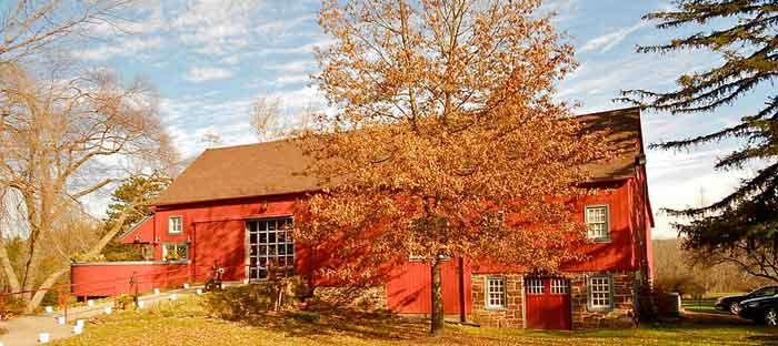 'Visit the historic barns of Bucks County, PA' from the web at 'http://buckscountyalive.com/images/home-collage/30-bucks-county-barn-psb.jpg'