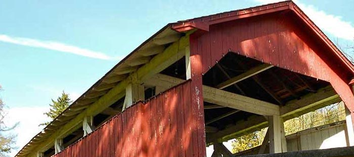 Visit the covered bridges in Bucks County