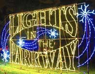 Lights In The Parkway, Allentown, PA