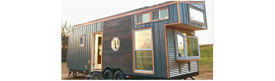 Minimus Tiny House Project - Delaware Valley University Campus in the Bucks County, PA area