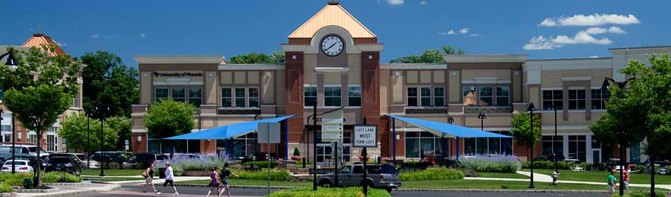 An open-air shopping center with great shopping and dining, many family activities in the Bucks County, PA area