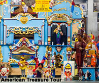 Local attractions, American Treasure Tour