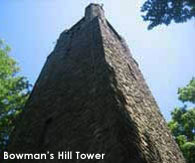 Local attractions, Bowman's Hill Tower