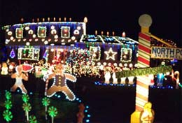 Residential Holiday Light Displays