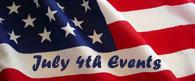 July 4th Events in Bucks County, Montgomery County & Hunterdon County