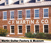 Local attractions, Martin Guitar Comany
