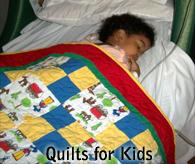 Local Volunteer Opportunities - Quilts for Kids