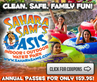 Sahara Sam's Oasis Indoor & Outdoor Water Park in Berlin, NJ