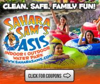 Sahara Sam's Oasis Indoor and Outdoor Water Park