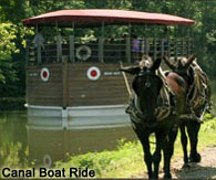 Local attractions, Delaware Canal Boat Rides in Easton, PA