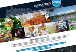 Bucks County Alive Redesign